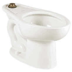 Madera 1.1-1.6 gpf Universal Flushometer Toilet with EverClean