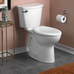 Cadet PRO Elongated 1.6 gpf 2-Piece Toilet in White