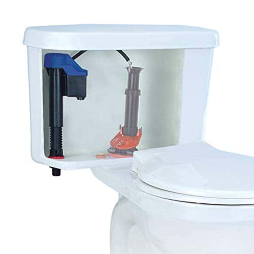 Korky 528T Replacement TOTO - Fits G-Max and Power Gravity Toilets -Easy to Install -Made in USA