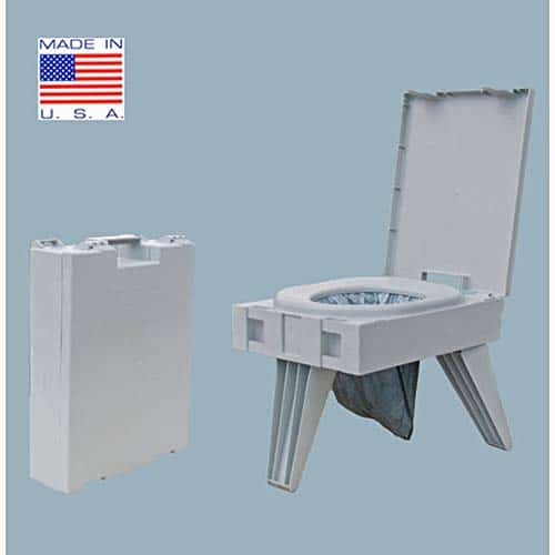 Cleanwaste GO Anywhere Toilet w/ 1 Waste Kit (D119PET)